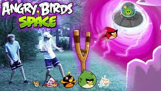 Download Real Life Angry Birds Space Video