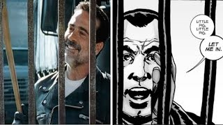 Download Negan Visits Alexandria Comparison - Walking Dead TV Show VS Comic (Season 7 Episode 4) Video