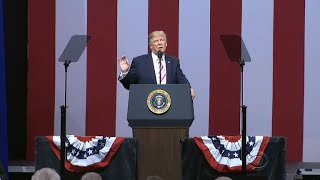 Download President Trump targets the NFL and NBA Video