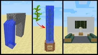 Minecraft - 6 Secret Things That You Can Make in Minecraft! (PS3/4