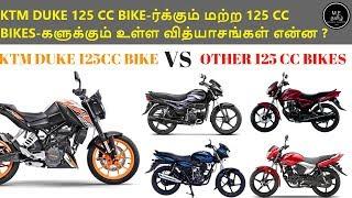 Download KTM Duke 125 cc Bike Vs Other 125 CC Bikes (தமிழில்) Video