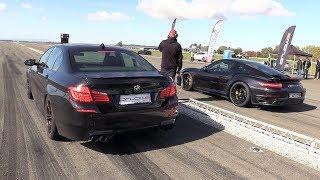 Download 700HP Porsche 991 Turbo S vs 830HP BMW M5 F10 HPT Video