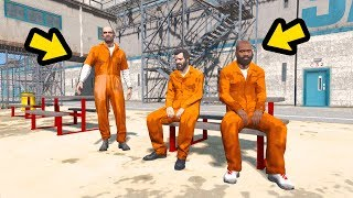Download PRESOS? Michael, Trevor e Franklin condenados a prisão PERPETUA!! Video