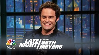 Download Bill Hader's Impression That Never Made SNL - Late Night with Seth Meyers Video