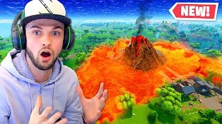 Download The *NEW* Lava Lake in Fortnite! Video