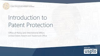 Download Introduction to Patent Protection Video