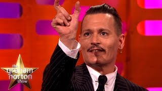 Download Johnny Depp's Jack Sparrow Prank Didn't Go So Well | The Graham Norton Show Video