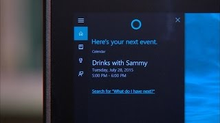 Download CNET How To - Cortana setup tips and commands Video