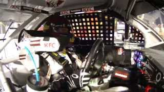 Download Clint Bowyer radio chatter during black flag Video
