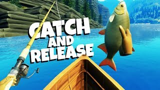 Download Catching MONSTER FISH in Virtual Reality - Catch and Release VR Gameplay Video