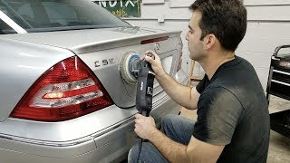 Download Here's What A $100, 6-Hour Paint Correction & Ceramic Coating Looks Like On A 13-Year-Old C55 AMG. Video