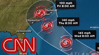 Download Hurricane Florence threatens US East Coast Video