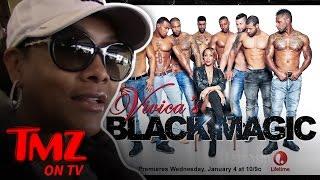 Download Does Vivica A. Fox Inspect The Black Magic Dancers Bluge? | TMZ TV Video