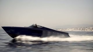 Download Aston Martin AM37, 1040hp powerboat review Video