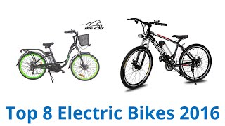 Download 8 Best Electric Bikes 2016 Video