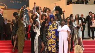 Download Tapis rouge de femmes noires contre leur sous-représentation Video