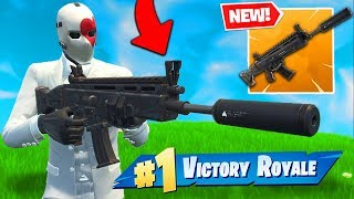Download *NEW* LEGENDARY SUPPRESSED AR In Fortnite Battle Royale! Video
