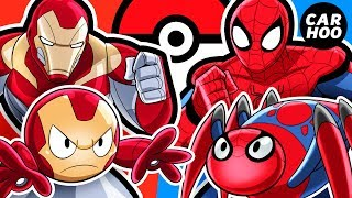 Download What If Iron Man & Spider-man Were Pokémon Trainers 【 MARVEL Superheroes Parody 】 Video