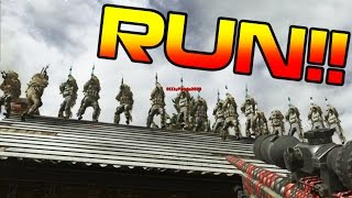 Download SNIPERS vs. RUNNERS!! CRAZY COD 4 REMASTERED MINI-GAME!! (Border Patrol MWR) Video