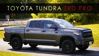 Download Quick Review | 2017 Toyota Tundra TRD Pro Video