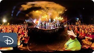 Download 360 Video: 'The Wonderful World of Disney: Magical Holiday Celebration' Opening Act Video