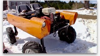 Download Driving the QUADRACTOR in the SNOW! Video