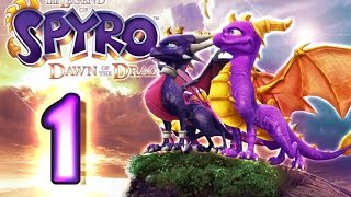 Download The Legend of Spyro: Dawn of the Dragon Walkthrough Part 1 (X360, PS3, Wii, PS2) 100% The Catacombs Video