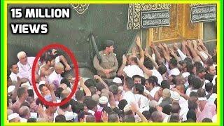 Download ✔ Umrah 2019 🕋 Struggle to Touch Hajr e Aswad Black Stone Hajar Makkah Live Hajj Video