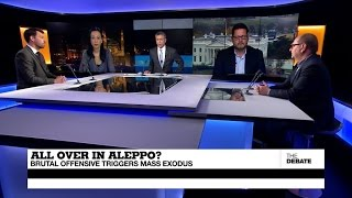 Download All over in Aleppo? Brutal offensive triggers mass exodus (part 1) Video