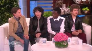 Download Stranger Things Cast on The Ellen Show Video