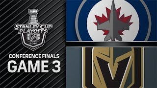 Download Winnipeg Jets vs Vegas Golden Knights – May. 16, 2018 | Game 3 | Stanley Cup 2018 Video