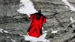 Download British Stuntman Killed in Swiss Alps During Wingsuit Flight Video