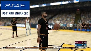 Download PS4 Pro | NBA 2k17 - Cavaliers vs Warriors - 1 Quarter of Gameplay (60fps 1080p) Video
