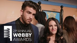 Download Hasan Piker and Nomiki Konst on the Red Carpet at the 21st Annual Webby Awards Video