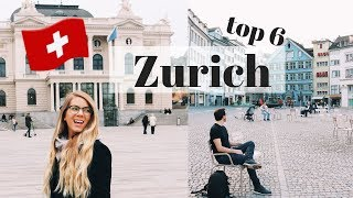 Download ZURICH, SWITZERLAND   TOP 6 Things To Do (free & cheap) Video