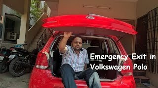 Download Emergency Exit in Volkswagen Polo Video