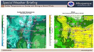 Download Special Weather Briefing 01.20.2018 Video