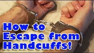 Download How to Escape from Handcuffs! Video