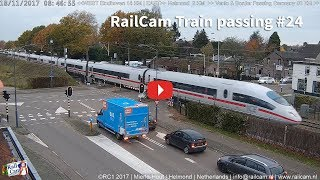 Download RailCam Passing with 16 Trains in 9 minutes Video