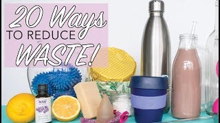 Download 20 WAYS TO REDUCE WASTE | Easy Sustainable Lifestyle Hacks | Zero Waste for Beginners | The Edgy Veg Video