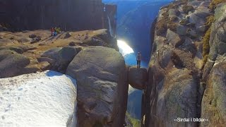 Download Kjerag from the air - viral drone video from Norway (100 million views on Facebook) Video