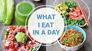 Download What I Eat In A Day | HEALTHY VEGAN RECIPES Video