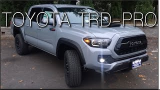 Download 2017 Tacoma TRD-PRO! Video