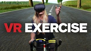 Download IGN Reacts to VR Exercise Biking (in Mixed Reality) Video