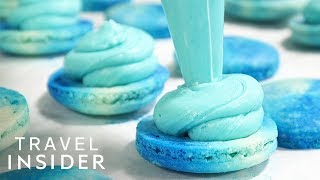 Download Colorful American Take On French Macarons In NYC Video
