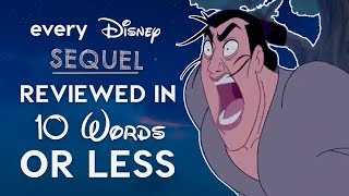 Download Every Bad Disney Sequel Reviewed in 10 Words or Less! Video