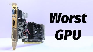 Download The WORST Graphics Card | Nvidia Geforce 210 / GT 210 Video