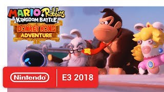 Download Mario + Rabbids Kingdom Battle: Donkey Kong Adventure - Release Date Announcement - Nintendo E3 2018 Video