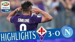 Download Fiorentina - Napoli 3-0- Highlights - Giornata 35 - Serie A TIM 2017/18 Video