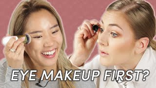 Download Foundation Vs. Eye Makeup: Which Do You Apply First? Video